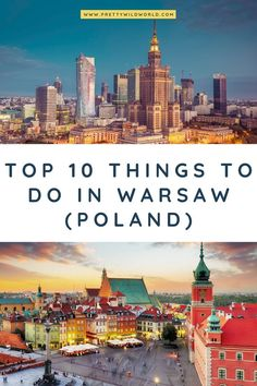 Discover some of the best things to do in Warsaw, the top jewel of Poland. Find out where to go and what to see while enjoying its vibrant atmosphere all while strolling its beautiful streets. Read this post now and learn more about this beautiful city! Europe Travel Guide, Europe Destinations, Travel Guides, Travel Diys, Budget Travel, Cool Places To Visit, Places To Travel, Visit Poland, Poland Travel