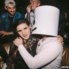 <3 Marshmello and Skrillex