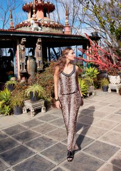 We're picking up an exotic vibe from this INC International Concepts jumpsuit. Explore more styles from our Urban Voyage only at mblog.macys.com