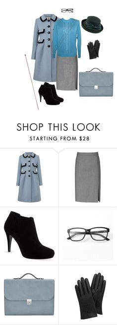 """""""Strict Teacher"""" by s-a-n-d ❤ liked on Polyvore featuring Orla Kiely, Reiss, Karen Millen, Pointer, Murati, Valextra, Mulberry and Betmar"""