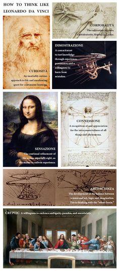 Leonardo da Vinci: painter, sculptor, scientist, mathematician, writer, inventor, philosopher, musician, anatomist, engineer, botanist, cartographer, geologist...