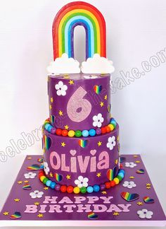 Celebrate with Cake!: Colorful 2 tier