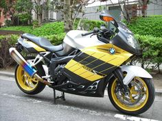 pinner said: I traded in my BMW K1200S for a new R1200RT. Now I might do the opposite and trade my Rt for this yellow bike - love the look Cj