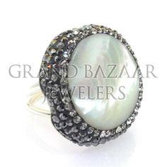 Gemstone and Crystal Artisan Ringshttp://grandbazaarjewelers.com/Home/Product/10194/Gemstone-and-Crystal-Artisan-Rings