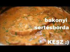 Bakonyi sertésborda - YouTube Mashed Potatoes, Chicken, Meat, Ethnic Recipes, Youtube, Food, Whipped Potatoes, Smash Potatoes, Essen