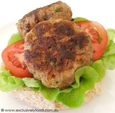 These beef and vegetable patties have a flavoursome browned crust and moist interior. We serve them in bread rolls with salad and sauce, o... Welsh, Rissoles Recipe, Hamburger Patties, Veggie Patties, Aussie Food, Rice Seasoning, Meat Recipes, Dinner Recipes, Cooking Recipes