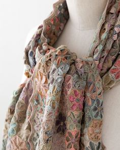 crochet scarf. Sophie Digard