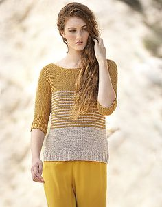 Ravelry: Concept 3-31 Sweater pattern by Fil Katia