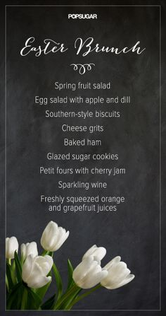 Have you planned your Easter brunch menu?