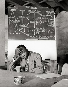 john lee hooker (i loved seeing him sitting in the back of the boom boom room looking as sharp as a tack.)