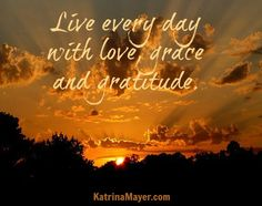 love, grace and gratitude