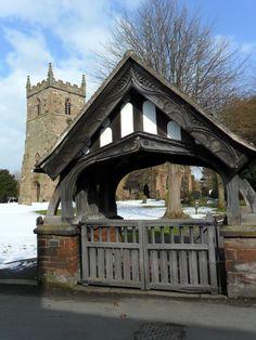 Aldridge, in a Campervan Timber Gates, Wooden Gates, England, Entrance Gates, English Style, St Matthews, Gazebo, Campervan, Outdoor Structures