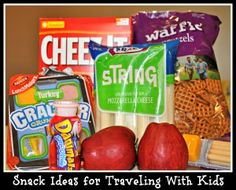 Snack Ideas for Traveling With Kids - vacationmaybe.com