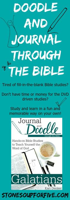Doodle and Journal Bible Studies www.stonesoupforfive.com