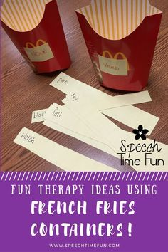 Want a fun DIY idea that will be motivating for your speech students?  Work on a variety of speech and language skills with this engaging idea!