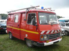 PEUGEOT J9 Sapeurs-Pompiers équipé par Camiva 1987
