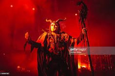Dani Filth of Cradle Of Filth performs on stage at KOKO on October 2015 in London, England. Dani Filth, Cradle Of Filth, London Photos, October 23, London England, Stage, Pictures, Photos, Grimm