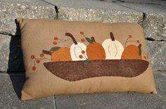 pumpkin patch bowl pillow