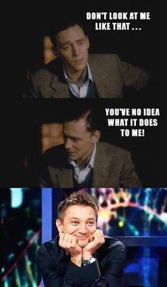 Tom Hiddleston Tag Funny LOL (Txt/concept Lärwi @ www.pinterest.com/itsalarwilife) #JustForFun