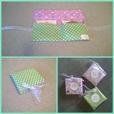 Porta biscotto e bustina di te di Soffi di Carta By Sab su DaWanda.com