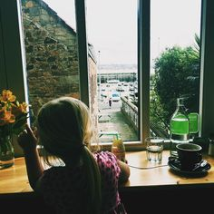 Just found a new cafe with a lovely view of the harbour. Could spend many mornings in here #coffee #coffeeshop #jersey #experiencejerseyci #visitjersey #worldoflittles #pixel_kids #littlefierceones #cherisheverymoment #staubins by islandliving365