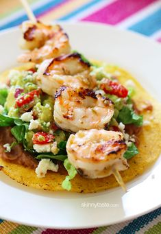 Grilled #Shrimp Tostadas