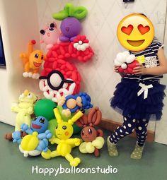 Balloon Pokemon Nail Polish d&c nail polish Pokemon Balloons, Happy Balloons, Balloon Animals, Ballon, Balloon Decorations, Tweety, Nail Polish, Studio, People