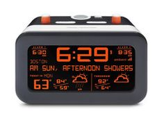 Flurry Alarm Clock with Weather Forecast
