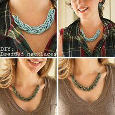 DIY Collar Necklace Ideas - Glam Bistro