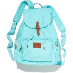 Victoria's Secret Backpack ($33) found on Polyvore