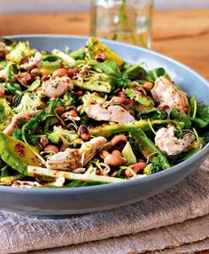Detox chicken salad