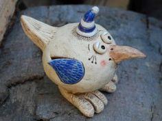 Ptáček - keramika