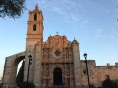 Un ejemplo de la arquitectura Barroca en Hidalgo. Iglesia de San Miguel Arcángel en Atitalaquia
