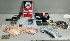 DE OLHO 24HORAS: Polícia Militar apreende arma e drogas com suspeit...