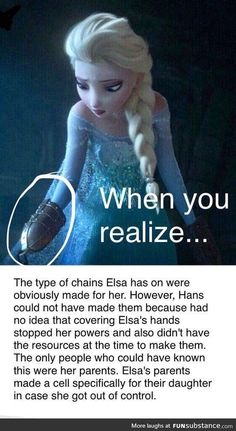 This theory of Frozen fans about Elsa& parents i . - Diese Theorie der Frozen-Fans über Elsas Eltern i… – This theory of frozen fans about Elsa& parents i … – - Triste Disney, Humour Disney, Funny Disney Jokes, Funny Memes, Memes Humor, Disney Cartoons, Disney Memes Clean, Disney Pixar, Disney And Dreamworks