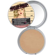 Mary-Lou Manizer by theBalm is a honey-hued luminizer. The Mary-Lou luminizer, a highlighter, shadow and shimmer, diffuses light so your skin looks softer and younger while adding a subtle glow. How t