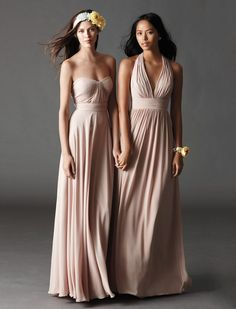 Blush Bridal - Spring 2015 Watters Bridesmaids Style 7547, $268.00 (http://www.loveblushbridal.com/copy-of-watters-bridesmaids-style-7545/)