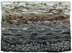 "Riverbed, (Pebble Creek) | 7 1/2"" x 5 1/2"" 12"" x 15"" framed … | Flickr"