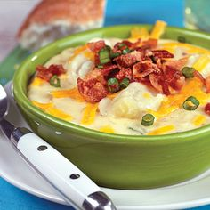 Baked Potato Soup from Gooseberry Patch