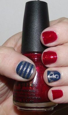 Hello Sailor Nails! Inspired by my Halloween Costume!