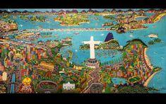 Rio de Janeiro, goste de você, goste dessa gente feliz, de Lia Mitarakis