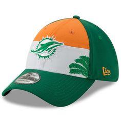 best service c653d 5d3f8 Miami Dolphins New Era 2019 NFL Draft Spotlight 39THIRTY Flex Hat – white  green