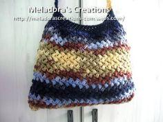 Meladoras Creations | Bean Stitch Purse – Free Crochet Pattern