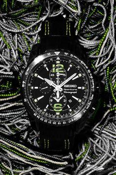 Seikos new Sportura aviation chronograph watch
