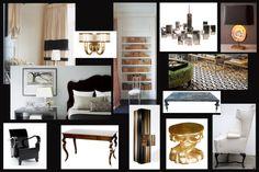 www.PrestonLeeDesign.com Hotel Suite Concept by Preston Lee  Penthouse