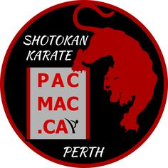 Logo creation for Shotokan Karate club: vector, easily scalable. Request was to use the gym logo in combination with the original karate club tiger image.