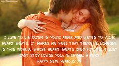 Lovely Happy New Year 2018 Wishes For Girlfriend
