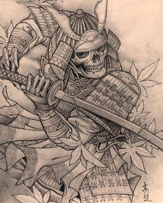 Japanese Warrior Tattoo, Japanese Tattoo Symbols, Japanese Tattoo Designs, Japanese Tattoo Art, Samurai Tattoo Sleeve, Samurai Warrior Tattoo, Warrior Tattoos, Cool Forearm Tattoos, Body Art Tattoos