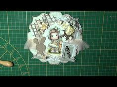 A Making of... Easter Card with Tilda Picking Carrots - YouTube