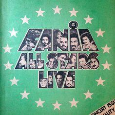 Latin New York, issue from Orignal Fania All-Stars logo by Izzy Sanabria. Logo All Star, Lps, Musica Salsa, Salsa Music, Latin Music, Early American, Rare Photos, Music Artists, Retro